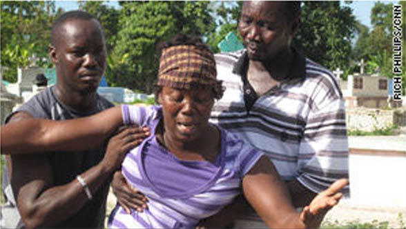 haiti earthquake after sleeping outside furthermore mother carrying